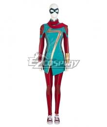 Marvel 2021 Ms. Marvel Kamala Khan Cosplay Costume