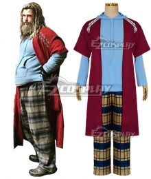 Marvel Avengers 4 Endgame Fat Thor Bro Thor Cosplay Costume