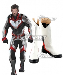 Marvel Avengers 4: Endgame Superhero Iron Man Ant Man  White Cosplay Boots