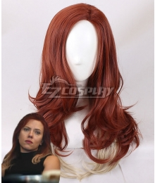 Marvel Avengers: Endgame Black Widow Natasha Romanoff New Edition Brown Cosplay Wig