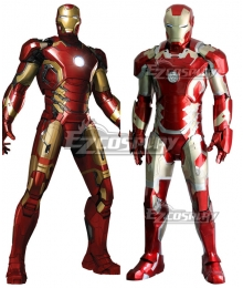 Marvel Avengers Iron Man ironman Tony Stark MK43 Cosplay Costume