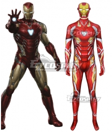 Marvel Avengers iron man ironman Tony Stark Zentai Jumpsuit Cosplay Costume