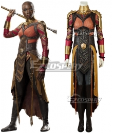 Marvel Black Panther 2018 Movie Okoye Cosplay Costume - No Boots