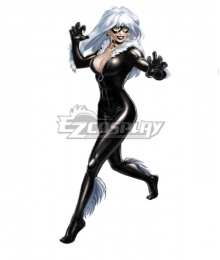 Marvel Comics Black Cat Felicia Hardy Cosplay Costume