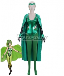 Marvel Comics The X-Men Polaris Lorna Dane Cosplay Costume