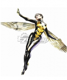 Marvel Comics Wasp Janet van Dyne Cosplay Costume