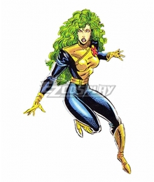 Marvel Comics X-Men Comic Polaris Cosplay Costume