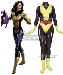 Marvel Comics X-Men Kitty Pryde Zentai Jumpsuit Cosplay Costume