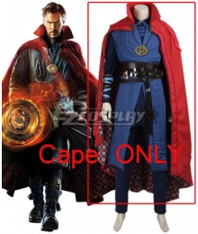 Marvel Doctor Strange Stephen Steve Vincent Strange Cosplay Costume (Cape ONLY)