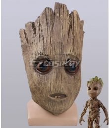 Marvel Guardians Of The Galaxy Vol. 2 Groot Halloween Mask Cosplay Accessory Prop