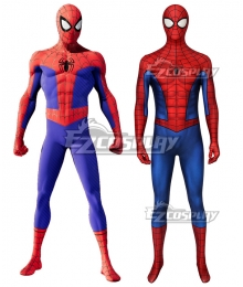 Marvel PS4 Spider-Man Spiderman Zentai Jumpsuit Cosplay Costume