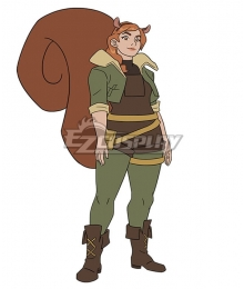 Marvel Rising Squirrel Girl Doreen Green Cosplay Costume