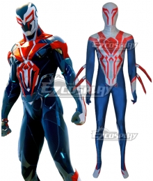Marvel Spider-Man 2099 Suit Zentai Jumpsuit Cosplay Costume