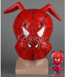 Marvel Spiderman Spider-Man: Into The Spider-Verse Spider-Ham Peter Porker SpiderMan Halloween Headgear Cosplay Accessory Prop