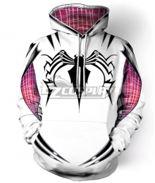Marvel Spiderman Spiderwoman Spider Gwen Gwen Stacy Coat Hoodie Cosplay Costume
