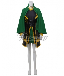 Marvel The Avengers The Dark World Loki Female Version Cosplay Costume