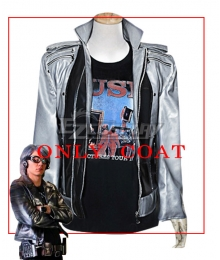 Marvel The X-Men Quicksilver Pietro Django Maximoff Cosplay Costume - Only Coat