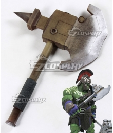 Marvel Thor: Ragnarok Hulk Robert Bruce Banner Hatchet Cosplay Weapon Prop