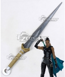 Marvel Thor: Ragnarok Valkyrie Brunnhilde Sword Cosplay Weapon Prop