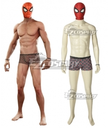 Marvel Video Game PS4 Spider Man Peter Parker Undies Peter Parker Cosplay Costume