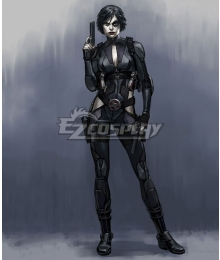 Marvel X-Men Deadpool Neena Thurman Domino Cosplay Costume