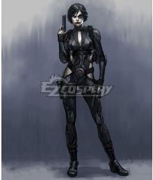 Marvel X-Men Deadpool Neena Thurman Domino Cosplay Costume