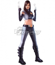 Marvel X-Men: Evolution X-23 Laura Kinney Cosplay Costume