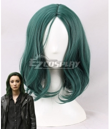 Marvel X-Men The Gifted Polaris Lorna Dane Green Cosplay Wig