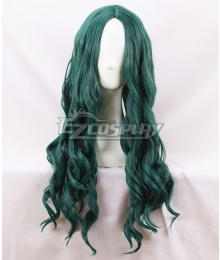Marvel X Men The Gifted Polaris Lorna Dane Deep Green Cosplay Wig
