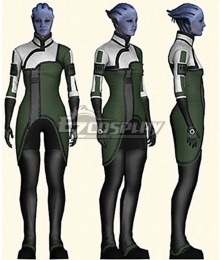 Mass Effect Liara T'Soni Cosplay Costume