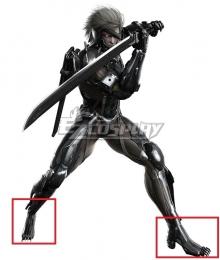 Metal Gear Rising: Revengeance Raiden Black Cosplay Shoes