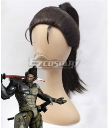 Metal Gear Rising: Revengeance Samuel Rodrigues Jetstream Sam Minuano Brown Cosplay Wig