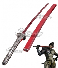 Metal Gear Rising: Revengeance Samuel Rodrigues Jetstream Sam Minuano Sword Cosplay Weapon Prop