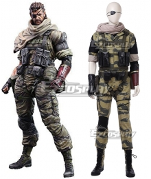 Metal Gear Solid V Solid Snake Cosplay Costume