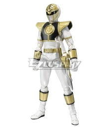 Mighty Morphin Power Rangers White Ranger Tommy Oliver Cosplay Accessory Prop