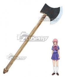 Mirai Nikki Future Diary Gasai Yuno Axe Cosplay Weapon Prop