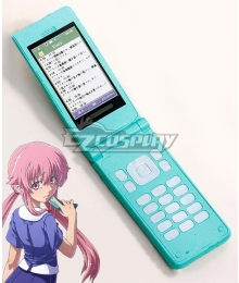 Mirai Nikki Future Diary Gasai Yuno Mobile Phone Cosplay Accessory Prop