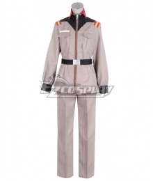Mobile Suit Gundam Earth Federation Force E.F.F. Uniform Cosplay Costume
