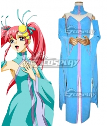 Mobile Suit Gundam SEED Lacus Clyne Dress Cosplay Costume