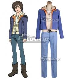 Mobile Suit Gundam Unicorn Banagher Links Cosplay Costume