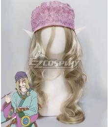 Mononoke Medicine Seller Silver Cosplay Wig