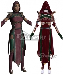 Mortal Kombat 11 Jade New Edition Cosplay Costume