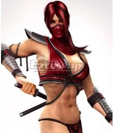Mortal Kombat 2011 Skarlet Red Cosplay Wig