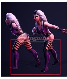 Mortal Kombat 3 Queen Sindel Black Cosplay Boots