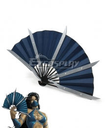 Mortal Kombat Kitana Fan Cosplay Weapon Prop