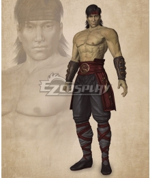 Mortal Kombat Liu Kang Cosplay Costume