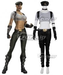 Mortal Kombat Sonya Blade Cosplay Costume