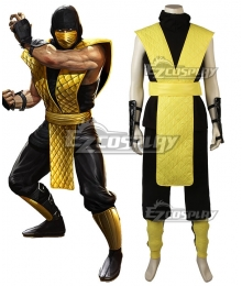 Mortal Kombat X Scorpion Cosplay Costume