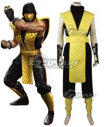 Mortal Kombat X Scorpion Cosplay Costume