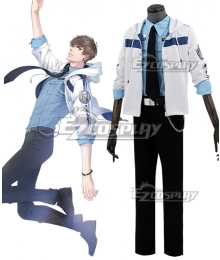 Mr Love: Queen's Choice Evol x Love Gavin Bai Qi Haku Cosplay Costume